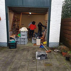 Garage ontruiming